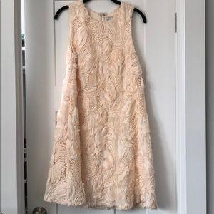 Anthropologie Rosette A-line Dress, sz 8
